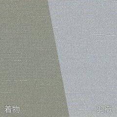 着物七五三レンタル父「Mサイズ」利休茶・薄グレー紬(春秋冬用/男着物メンズ袷)和服の画像3