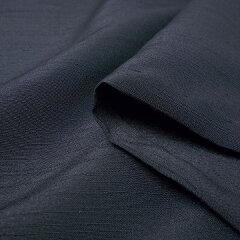 宅配レンタル着物セット「3Lサイズ(トールサイズ/LLL)」濃紺(初夏・初秋用/男物メンズ単衣紬アンサンブル)の画像4