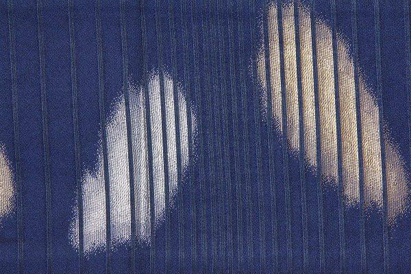 【レンタル】半幅帯 レンタル 青・ボカシ〔お好きな帯を選べる変更オプション〕(春秋冬用/女性用)【返却送料無料】