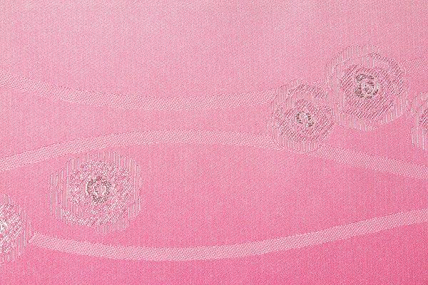 【レンタル】半幅帯 レンタル (夏物・浴衣用)淡ピンク・バラ立涌レンタル〔お好きな帯を選べる変更オプション〕(夏用/女性用)【返却送料無料】