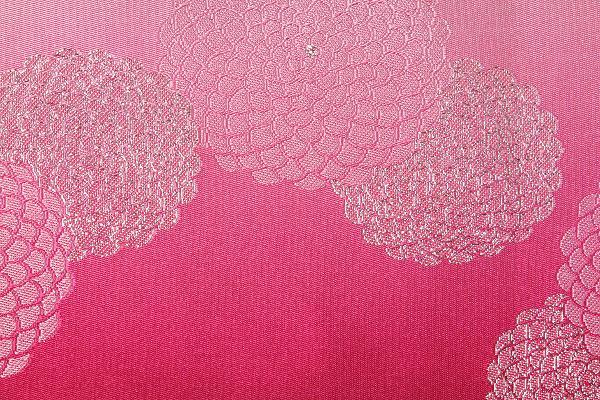 【レンタル】半幅帯 レンタル (夏物・浴衣用)ピンク・菊レンタル〔お好きな帯を選べる変更オプション〕(夏用/女性用)【返却送料無料】