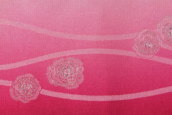 【レンタル】半幅帯 レンタル (夏物・浴衣用)ピンク・バラ立涌レンタル〔お好きな帯を選べる変更オプション〕(夏用/女性用)【返却送料無料】