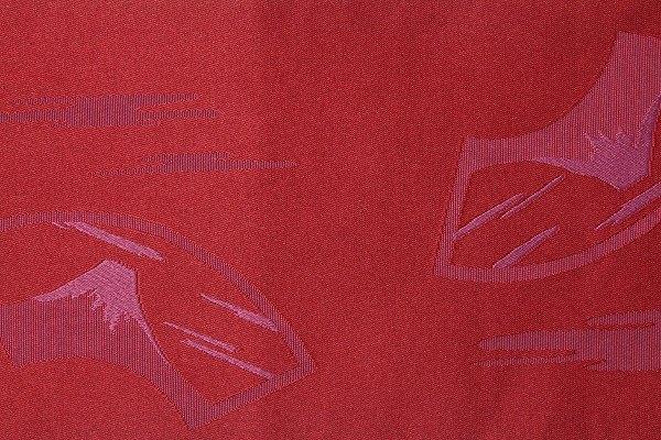 【レンタル】半幅帯 レンタル 〔お好きな帯を選べる変更オプション〕赤・富士・扇面(春秋冬用/女性用)【返却送料無料】