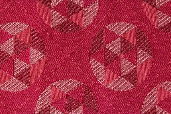 【レンタル】半幅帯(春秋冬用/女性用)赤・丸星レンタル〔お好きな帯を選べる変更オプション〕【返却送料無料】