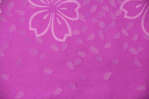【レンタル】半幅帯 レンタル (夏物・浴衣用)赤紫・サクラ〔お好きな帯を選べる変更オプション〕(春秋冬用/女性用)【返却送料無料】