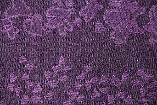 【レンタル】半幅帯 レンタル (夏物・浴衣用)紫・サクラ〔お好きな帯を選べる変更オプション〕(春秋冬用/女性用)【返却送料無料】
