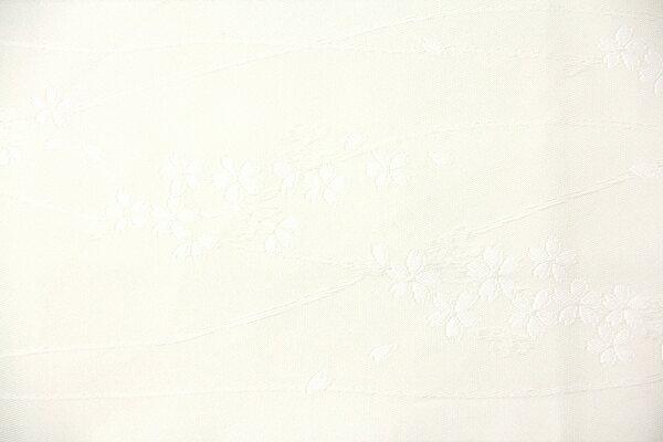 【レンタル】半幅帯 レンタル (夏物・浴衣用・単衣用)白・小桜波〔お好きな帯を選べる変更オプション〕(春秋冬用/女性用)【返却送料無料】
