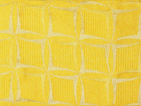 【レンタル】半幅帯 レンタル (浴衣用・単衣用) 黄色 七宝くずし 変更オプション (夏/女性用) (hy709)