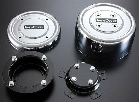 【送料無料】大型ISO規格ホイルナット10穴用エアロカバーフロント用左右セット