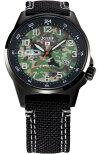 自衛隊腕時計/陸上自衛隊迷彩モデルS715M-08正規品/日本製ミリタリー時計JSDFKENTEXケンテックス