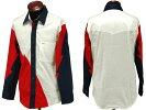 3カラー・メンズウエスタンシャツ(Red,White&Navy)