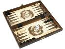 バックギャモン+チェス+チェッカーセット(木製)26.5cm×26.5cmポーランド製Backgammon&chess&Checkersset駒盤数量限定販売【楽ギフ_包装】