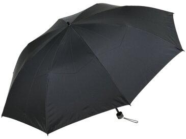 かさ工房ワカオ 親骨55cmメンズ折りたたみ傘(ブラック) 軽量 高密度 超撥水雨傘 日本製傘 Tokyo Made WAKAO 紳士 男