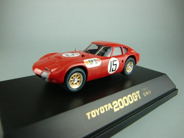 車, ミニカー・トイカー 143 TOYOTA 2000GT 1966GP RED No15 Driver 090122 090122 Q-MODEL4523230901221