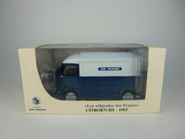 車, ミニカー・トイカー 143 Type HY AIR FRANCE bleu et blanc 1955 NOREV 143 Museacute;e AIR FRANCE Les veacute;hicules Air France - 2007NOREV