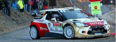 車, ミニカー・トイカー 143 Citroen DS3 No.3 Citroen Total Abu Dhabi WRT - 3rd Rally Monte Carlo 2014 S3788 9580006937889