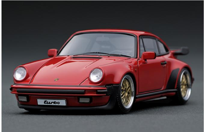 車, ミニカー・トイカー 143 Porsche911 (930) Turbo Red IG0938 ignition model4571477909388