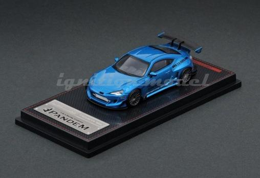 車, ミニカー・トイカー 164 PANDEM TOYOTA 86 V3 Blue Metallic IG1751 ignition model4573448887510