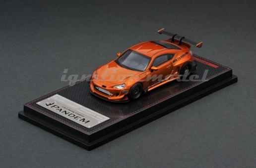 車, ミニカー・トイカー 164 PANDEM TOYOTA 86 V3 Orange Metallic IG1752 ignition model4573448887527