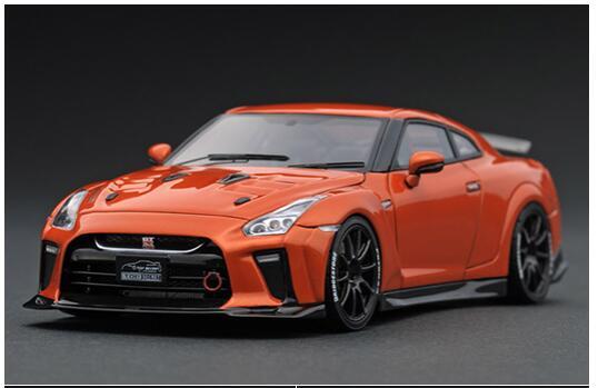 車, ミニカー・トイカー 143 TOP SECRET GT-R (R35) Orange IG1538 ignition model4573448885387