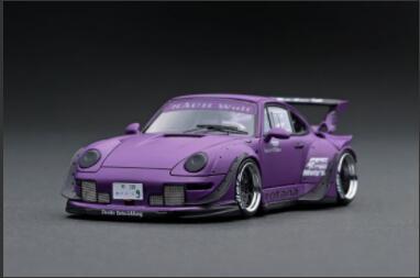 車, ミニカー・トイカー 143 RWB 993 Matte Purple IG2174 ignition model4573448891746