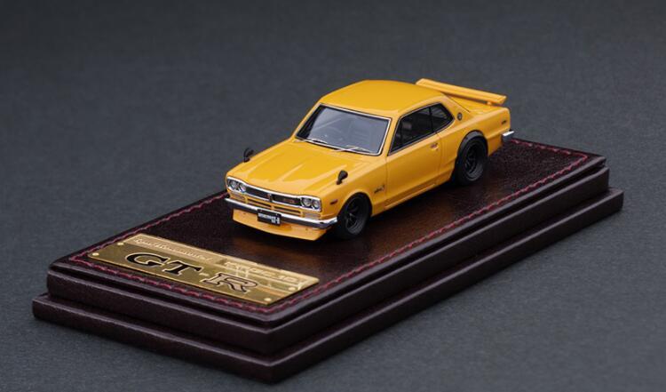 車, ミニカー・トイカー 164 Nissan Skyline 2000 GT-R (KPGC10) Brown IG2306 ignition model4573448893061