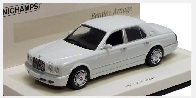 車, ミニカー・トイカー 143 Bentley Arnage 2005 (White Edition) 436139402 4012138083301