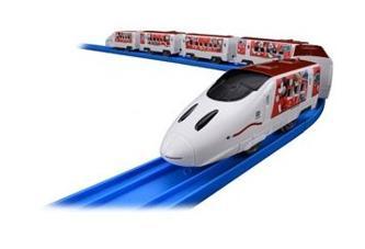 電車・機関車, 電車  JR Waku Waku Trip 135142 TAKARATOMY4904810135142