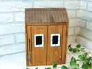 キーフックルーフボックス】ハウス型のキーボックス