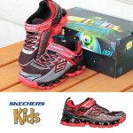 SKETCHERSスケッチャーズ[90293L]FLASHPODSCORIA(RDBK)ボーイズスニーカーキッズスニーカー子供靴