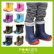 プーキーズ POOKIES キッズ ジュニア スノーブーツ PK-EB510 インナーボア付EVAスノーブーツ 軽量防寒ブーツ ジュニア ユース 子供用 長靴 雪遊び
