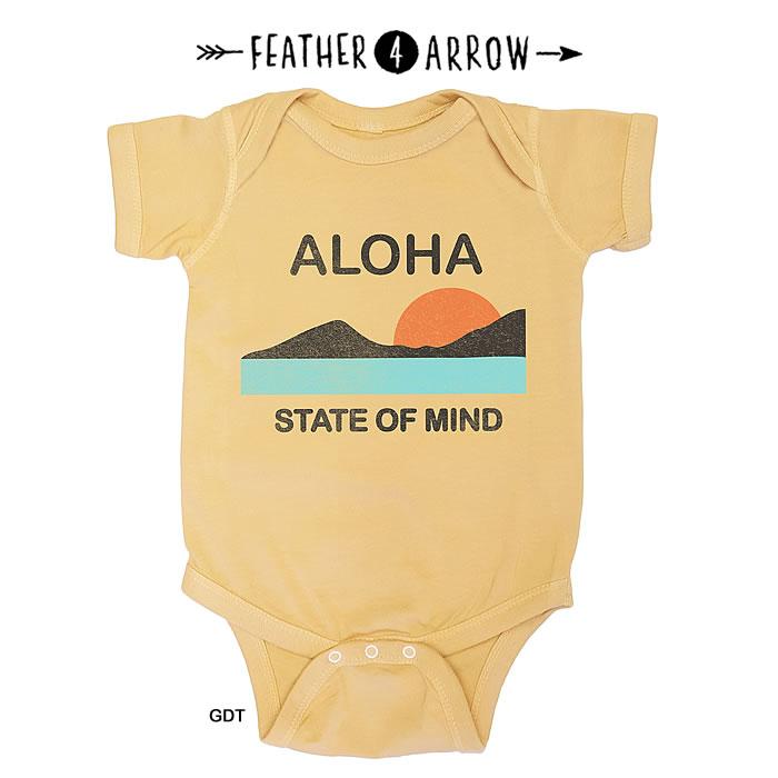 ベビーファッション, カバーオール・ロンパース 2220:00-P5 SPU19 4 FEATHER 4 ARROW Aloha State Of Mind One Piece 0401 SPS061