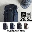 ニューエラ バックパック NEWERA RUCKSACK MINI [20.5L] リュック ラックサック バッグ デイパック 鞄 カバン bag キャップ スナップバック [売れ筋] 2017SS
