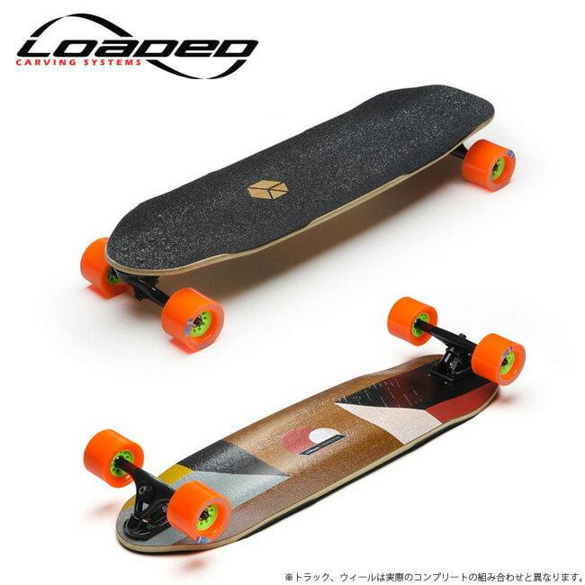 【 LOADED / ローデッド 】TRUNCATED TESSERACT トランケーテッドテッセラクトskate スケート skateboard complete スケートボード deck ロンスケ sk8 lsk8 ロングスケートボード:HOOD