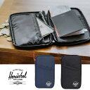 ハーシェル トラベルウォレット Herschel [ TRAVEL WALLET ](10534)パスポートケース 財布 旅行 [メール便] [1215]【WK】