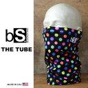 フェイスマスク スノーボード 防寒 [メール便対応] THE TUBE [BS34] [POLKA DOTS] Blackstrap ブラックストラップ 【MADE IN USA】facemask 日焼け止め【17SP】修正