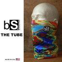 フェイスマスク スノーボード 防寒 [メール便対応] THE TUBE [BS39] [TIE DYE] Blackstrap ブラックストラップ 【MADE IN USA】facemask 日焼け止め