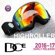 【GW限定 POINT最大12倍】スノーボード ゴーグル【 偏光レンズ 】 DICE ゴーグル HIGH ROLLER《17HR-6》EARLY RELEACE MODEL ダイス ハイローラー[CSK]pM/GRSHDd[球面/偏光レンズ]スキー スノボゴーグル スノーゴーグル HRE1611070