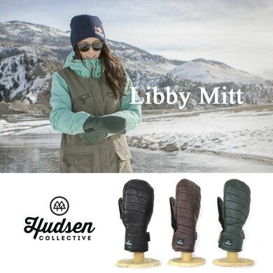 HUDSENグローブハドソンLIBBYMITT【5本指タイプ】【レディース】スキースノーボードスノーグローブスキーグローブレディース女性用