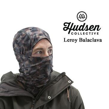 HUDSEN グローブ ハドソン LEROY BALACLAVA (Black Camo)【HC-27M】【メール便送料無料】バラクラバ スノーボード スノボ スノボー フェイスマスク バラクラバ 目出し帽 ネックウォーマー 伸縮性 スキー