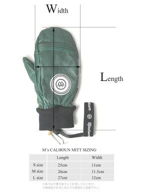 [おすすめ!]HUDSENグローブハドソンCALHOUNMITT【HC-30M】WHTホワイト(数量限定/JapanLimited)【ミトンタイプ】【メンズ】スキースノーボードスノボスノボースノーグローブスキーグローブメンズ男性用