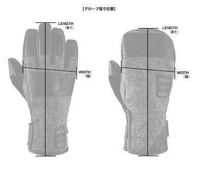 HUDSENグローブハドソンCALHOUNMITT【HC-30M】【ミトンタイプ】【メンズ】スキースノーボードスノーグローブスキーグローブ男性用[1115]