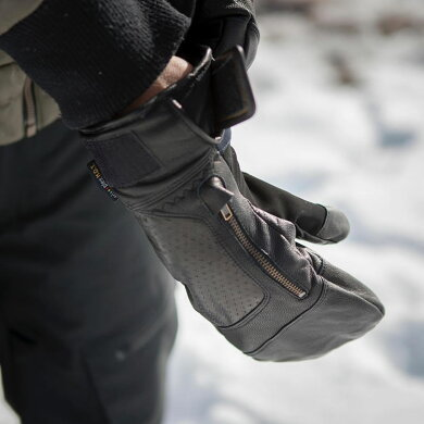 HUDSENグローブハドソンCALVINMITT【HC-12M】【ミトンタイプ】【メンズ】スキースノーボードスノーグローブスキーグローブメンズ男性用[1115]