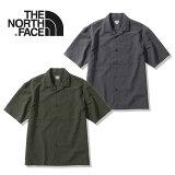 ノースフェイス 開襟シャツ THE NORTH FACE [ NR22062 ] S/S BLACKROCK ST 半袖シャツ [0526]