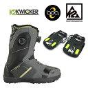 K2 ステップイン スノーボードブーツ STARK x KW...