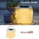 ルミンエイドソーラーランタンLuminAID[PACKLITEFIREFLY]ファイアフライ充電式防水LEDソーラーパネルUSB充電