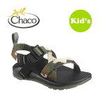 [キッズモデル]【Chaco/チャコ】Z/1《CAMO》お子様の足をしっかりとホールド!!走れるサンダル男の子女の子キッズサンダル靴