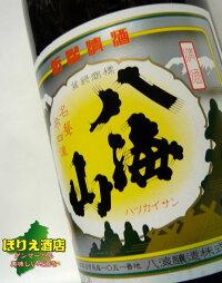 八海山普通酒1.8Lラベル