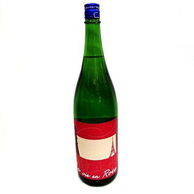 明鏡止水 癒し系純米 ラヴィアンローズ 大澤酒造 1800ml 瓶 めいきょうしすい La vie en Rose 敬老の日 ギフト クーポン