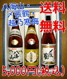 【送料無料 ギフトセット】人気の銘柄 越乃寒梅 別撰 八海山 特別本醸造 〆張鶴(花)720ml×3本 飲み比べセット